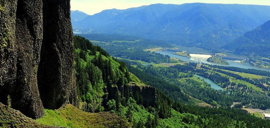 Hamilton Mountain Trail View