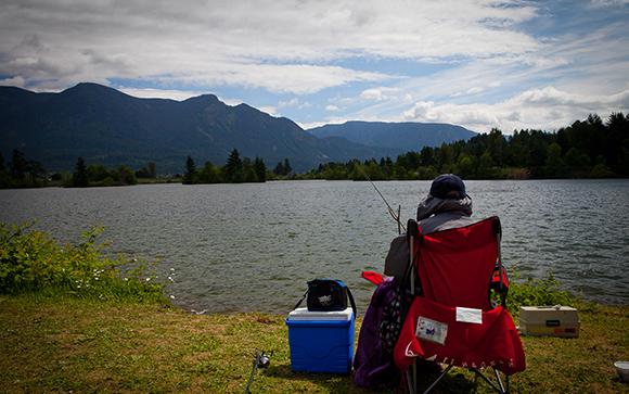 Fishing Columbia Sikora